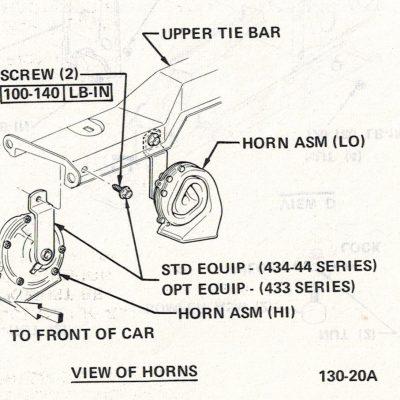 Horns 1971 - 1972