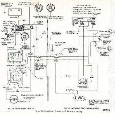 Wiring - Starting System